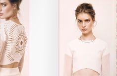 Rosette Print Long Sleeves T-shirt http://cutcuutur.com/shop/rosette-pritn-long-sleeves-t-shirt-detail Rhombus Print Skirt http://cutcuutur.com/shop/rhombus-print-skirt-3-detail