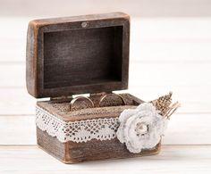 Ring Bearer Box on Pinterest | Ring Bearer Pillows, Wedding Ring ...
