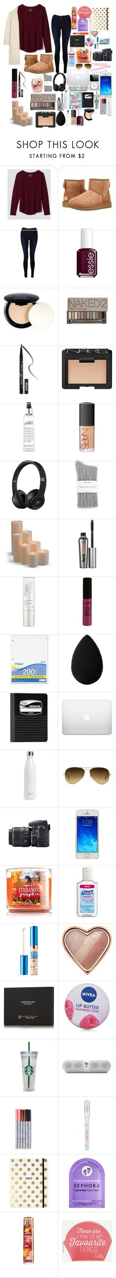 """""""i won't be making icons any more"""" by starry-night2021 ❤ liked on Polyvore featuring LOFT, UGG, J Brand, Essie, NYX, Urban Decay, Kat Von D, NARS Cosmetics, philosophy and Splendid"""