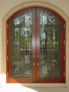 I Love Love Love a Big Front Door! So Elegant and Beautiful