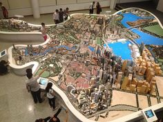 From Wikiwand: Photo of the Singapore City Gallery's Central Area Model, taken from the third floor of the gallery. Almost entire model visible, from Orchard Road in top left to Marina bay in bottom right.