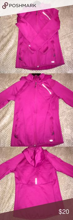 Target Athletic Jacket So comfy and warm!! I bought it at Target but it ended up just sitting in my closet forever :( just didn't like the pink color on my skin as much as I thought I would. Never worn outside the house! NOT LULU LEMON! Just put in the category because there isn't Target option :( lululemon athletica Jackets & Coats Utility Jackets