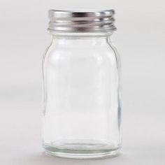 One of my favorite discoveries at WorldMarket.com: Stainless Steel Lidded Spice Jars, Set of 6