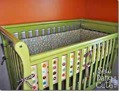 DIY Crib-bumper