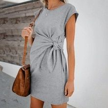 Buy Fashion Women's Maternity Pregnancy Dresses Short Sleeve Solid Color Comfortable Dress Summer Autumn Pregnancy Dresses at www.babyliscious.com! Free shipping to 185 countries. 21 days money back guarantee. Daily Fashion, Fashion Online, Short Sleeve Dresses, Dresses With Sleeves, Long Sleeve, Short Sleeves, Casual Maternity, Maternity Dress, Style Casual