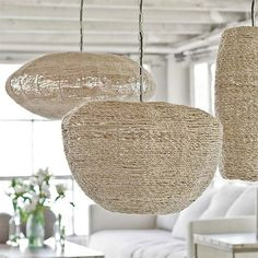rattan pendants are the light of the moment we love them