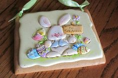 Teri Pringle Wood: Easter bunny....
