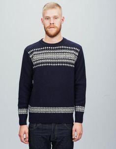 ymc sweater, fairisle
