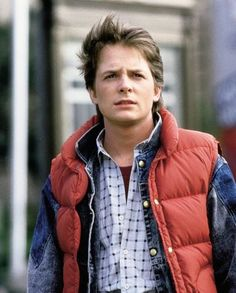 Michael J. Fox... I just love him... He's the first actor & Back to the Future is the first movie I remember... And my first crush when I was just a wee one! Such a sweetheart! And he's persevered through so much!