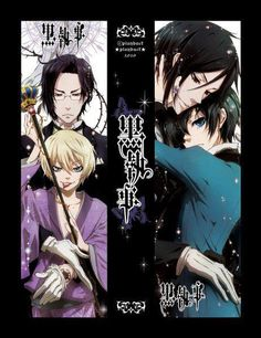 Claude, Alois and Sebastian, Ciel Ciel And Alois, Sebastian X Ciel, Claude Faustus, Death God, Black Butler Ciel, Ouran Host Club, Ciel Phantomhive, Shinigami