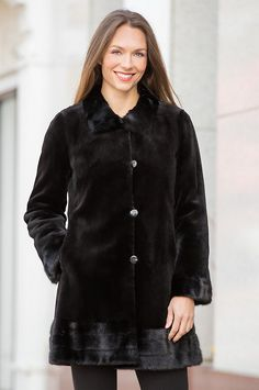 Premium Danish sheared mink fur is crafted into this elegant design that's soft, warm, and oh so lovely. Free shipping   returns.