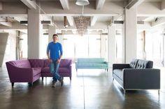 Apartment-Friendly Sofas By Kyle Schuneman + Apt2B http://blog.hgtv.com/design/2014/07/01/apartment-friendly-sofas-by-kyle-schuneman-apt2b/   http://idealshedplans.com/backyard-storage-sheds/