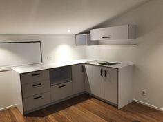 Bespoke kitchenette for awkward space