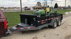 Trailer Diy, Trailer Plans, Caravan Van, Horse Barn Plans, Dump Trailers, Utility Trailer, Country Boys, Land Rover Defender, Heavy Equipment
