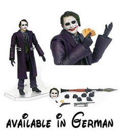 Batman Dark Knight Joker Miracle Action Figure - Previews Exclusive by Medicom. Batman Dark Knight Joker Miracle Action Figure - Previews Exclusive #Toy #TOYS_AND_GAMES