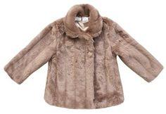 KARDASHIAN KIDS Kardashian Kids Faux Mink Fur Coat (Toddler Girls)