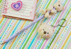 Lápis e chaveiro fofinho! | Rafaela Pereira | Flickr