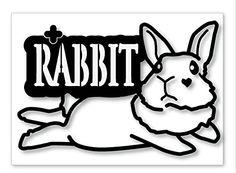 Rabbit, Arabic Calligraphy, Bunny, Rabbits, Bunnies, Arabic Calligraphy Art