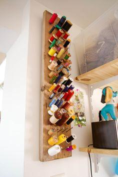 Atelier Tangerinette - planche bois + clous