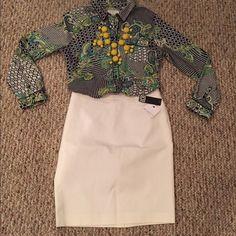 Liz Claiborne Pencil Skirt Sz 10 New Liz Claiborne Skirts Pencil