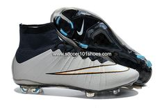 official photos 835c3 c84b7 Nike Kids Mercurial X Superfly IV FG High Top Football Shoes Soccer Boots  White  63.00 Nouvelles