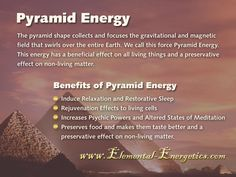 Benefits of Pyramid Energy