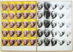 'Marilyn Diptych', Andy Warhol, 1962   Tate