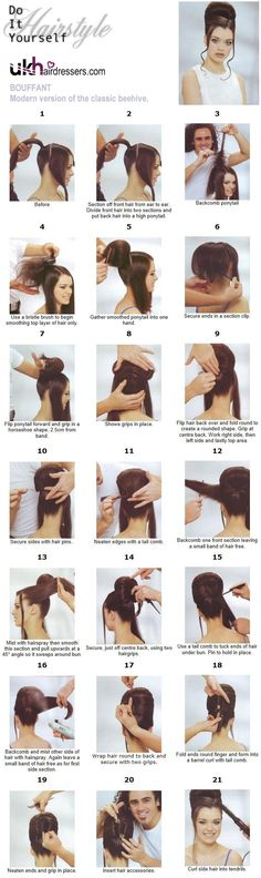 How to Do a Beehive (Just in Time for Halloween!) | Tutorials