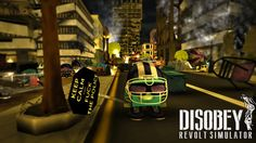 Are you ready to lead a Revolt?  Disobey is a hybrid between a real-time strategy and a third-person action game.