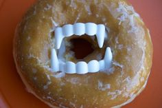 Donuts with teeth from lovezilla via sophie's world