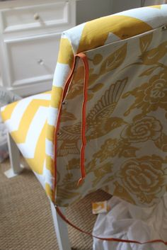 Upholstered chair----Tutorial