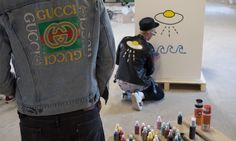 We Hung Out With the NYC Artist Who Scrawled Graffiti Across Gucci's Latest Collections