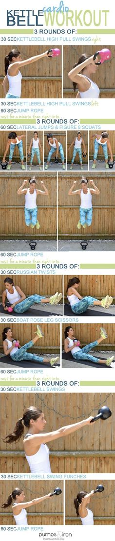Kettlebell Cardio Workout
