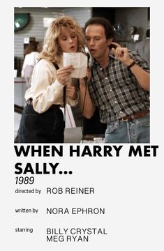 Iconic Movies, Classic Movies, Meg Ryan Movies, The Boy Is Mine, When Harry Met Sally, Good Movies To Watch, Movie Prints, Movie Couples, Movie Posters