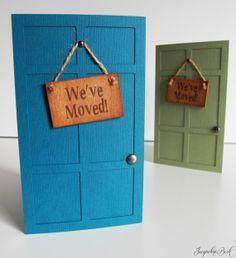 Housewarming Invitations by JacqsCraftyCorner on Etsy, $5.00