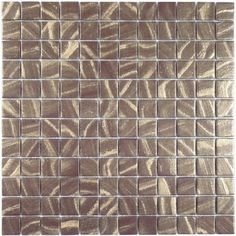 Gold Bronze Glossy Glass Tile