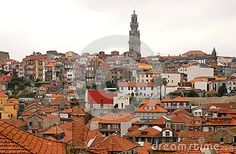 Photo made in Porto (Portugal) in a QUARTER of the city where you see the red roofs and a high tower. Porto is located on the north bank of the Douro River, not far from the Atlantic Ocean. Very famous is the Vinho do Porto; In fact, the latter is produced from grapes of the Douro Valley, was identified with the city in the second half of the seventeenth century because most of the production was exported by sea from its port. Occasionally Porto is also called the cidade invicta is rejected…