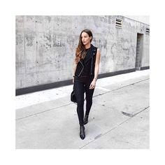 @jodiblk_ looks great in her ANINE BING Charlie boots ❥ www.aninebing.com #aninebing #aninebinggirls