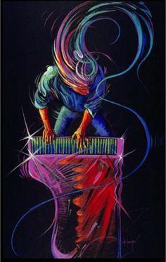 Piano Player Music Art
