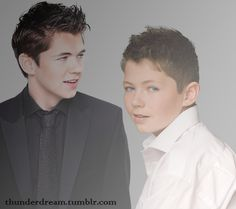 Damian McGinty: Celtic Thunder...oh my. Adorable then, and all grown up now:)