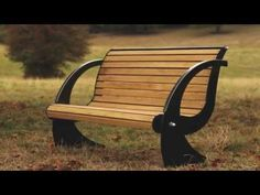 ▶ Hardwood and steel Spinnaker bench from Woodcraft UK - YouTube