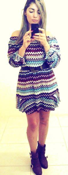 Vestido Coleção Inverno 14!