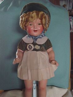 Ideal Used Composition Shirley Temple Doll in The Highly Sought After Tagged | eBay