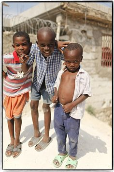 Haiti. In less than two weeks, I'll be off to boot camp...and then Haiti! :)