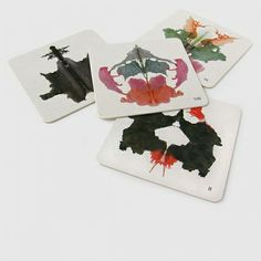 10 sottobicchieri per test di Rorschach