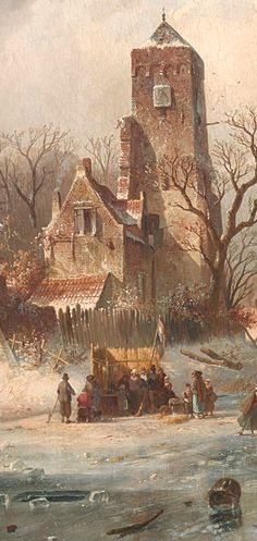 The Art Of Animation — Charles Leickert Watercolor Painting Techniques, Watercolor Art, Carl Spitzweg, Great Works Of Art, Smart Art, Dutch Painters, Dutch Artists, Fantasy Landscape, Environmental Art