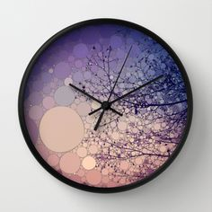 Eventide+Wall+Clock+by+Olivia+Joy+StClaire+-+$30.00