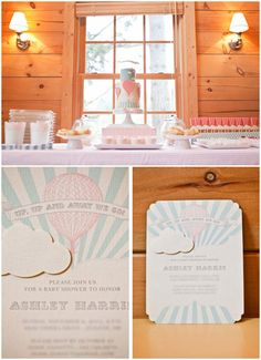 Featured Baby Shower: Up, Up and Away
