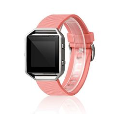 Wearlizer Fitbit Blaze Classic Band Silicone Replacement Strap For New Release Smart Fitness Watch Fitbit - Rose Red Small - http://www.computerlaptoprepairsyork.co.uk/new-product-releases/wearlizer-fitbit-blaze-classic-band-silicone-replacement-strap-for-new-release-smart-fitness-watch-fitbit-rose-red-small