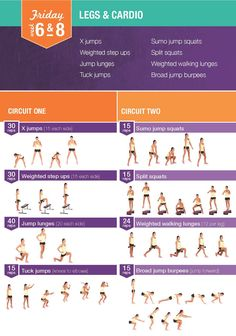 Kayla Itsines - Bikini Body Training week 6-8